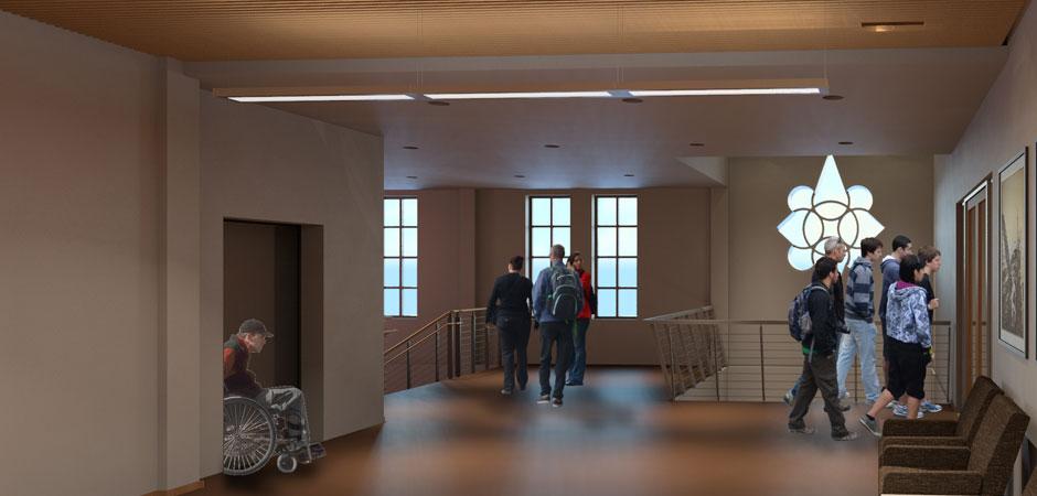 2nd Floor Lobby West
