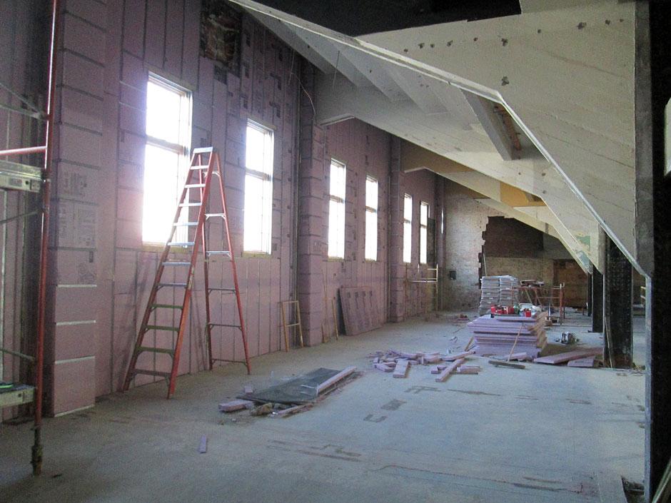 Basement Mezzanine Progress