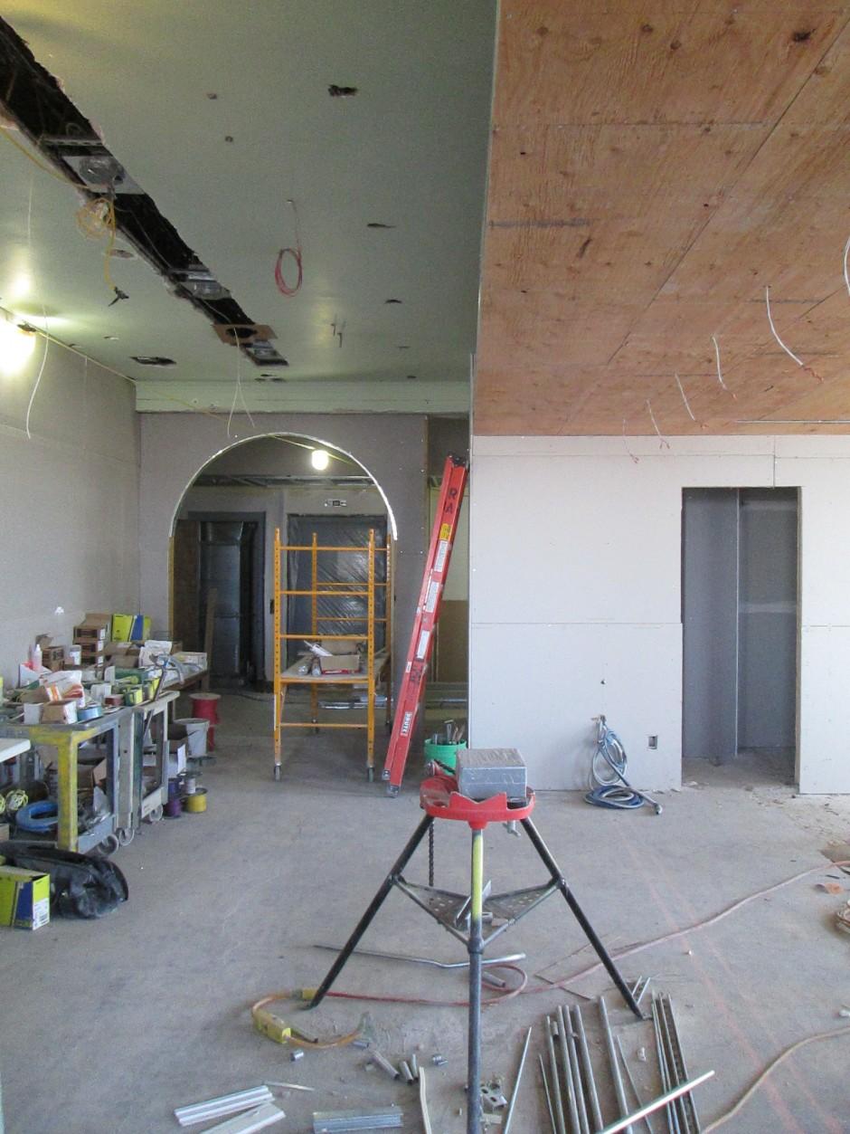 Restaurant Entry Progress