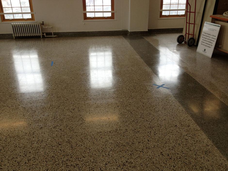 New Terrazzo Floor