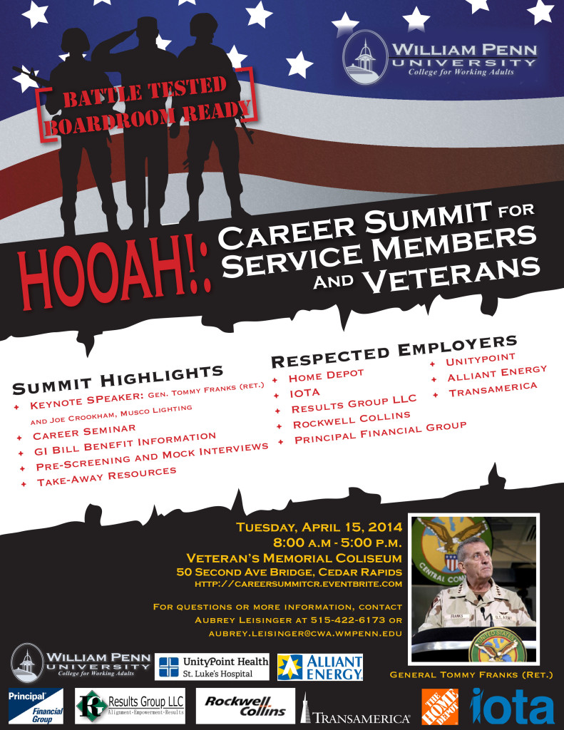 Career Summit - April 15
